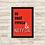 Thumbnail: 6038 - Quadro com moldura Eu, Você, Pipoca e Netflix