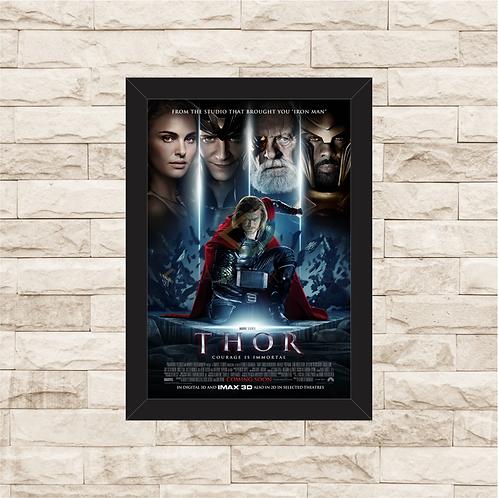 1318 - Quadro com moldura Thor