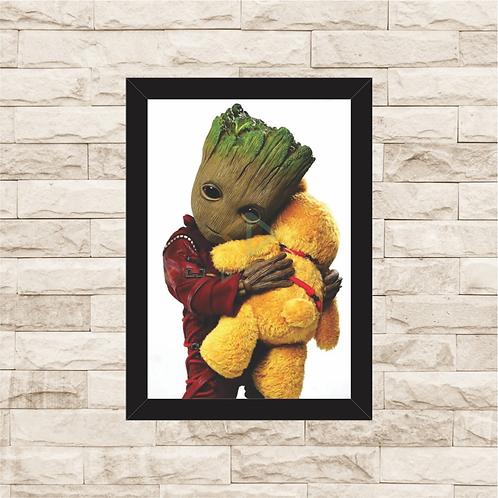 1781 - Quadro com moldura Baby Groot