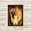 Thumbnail: 6159 - Quadro com moldura Leão e Ovelha