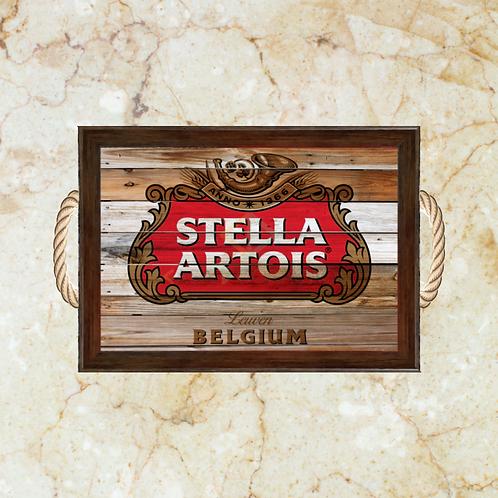 10064 - Bandeja Decorativa - Stella Artois