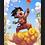 Thumbnail: 1148 - Quadro com moldura Dragon Ball Z
