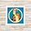 Thumbnail: 4092 - Quadro com moldura Ursinho Pooh - Tigrão