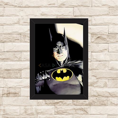 1108 - Quadro com moldura Batman