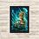 Thumbnail: 1297 - Quadro com moldura Guardiões da Galáxia - Baby Groot