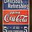 Thumbnail: 6101 - Quadro com moldura Coca Cola
