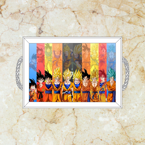 10067 - Bandeja Decorativa - Dragon Ball Z