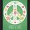 Thumbnail: 6292 - Quadro com moldura Pace & Love - Paz e Amor