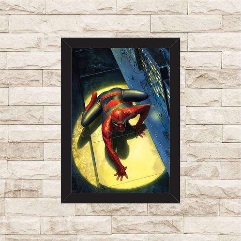 1770 - Quadro com moldura Homem Aranha