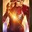 Thumbnail: 1724 - Quadro com moldura Capitã Marvel