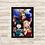 Thumbnail: 1728 - Quadro com moldura My Hero Academia