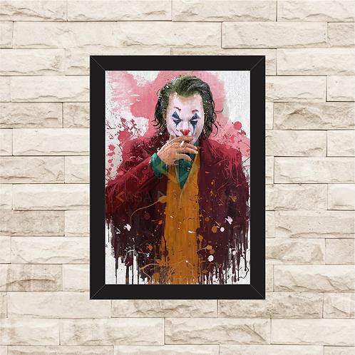 1877 - Quadro com moldura Joker - Coringa