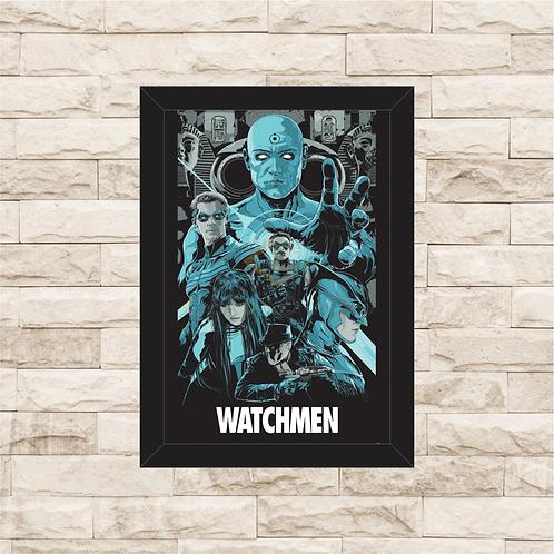 1281 - Quadro com moldura Watchmen