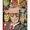 Thumbnail: 1259 - Quadro com moldura Marvel - Stan Lee