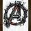 Thumbnail: 1721 - Quadro com moldura Vingadores