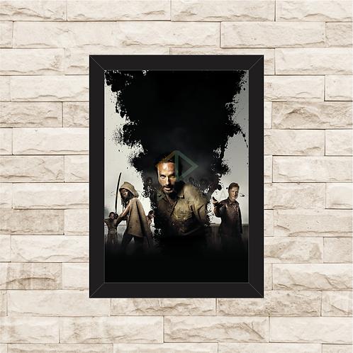 1466 - Quadro com moldura The Walking Dead