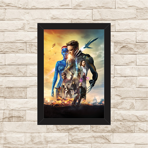 1390 - Quadro com moldura X-Men - Dias de um Futuro Esquecido