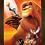 Thumbnail: 1307 - Quadro com moldura O Rei Leão