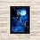 Thumbnail: 1659 - Quadro com moldura Como Treinar Seu Dragão