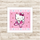 Thumbnail: 4078 - Quadro com moldura Hello Kitty