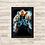 Thumbnail: 1553 - Quadro com moldura Hellboy