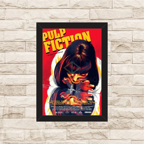 1138 - Quadro com moldura Pulp Fiction