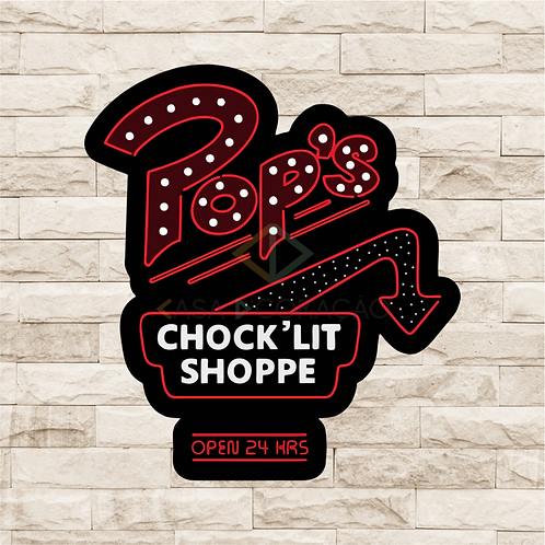 30026 - Placa Decorativa - Chocoloja Pops - Riverdale