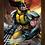 Thumbnail: 1189 - Quadro com moldura X-men - Wolverine