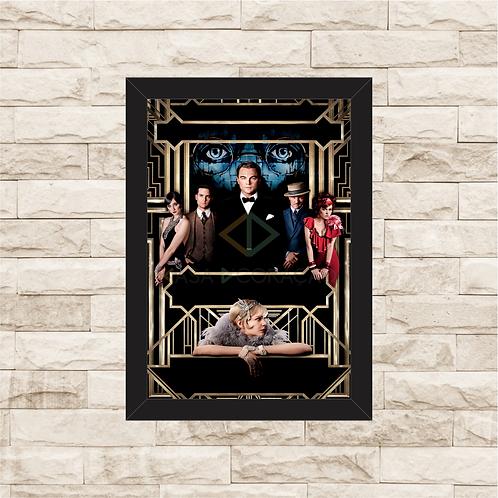 1543 - Quadro com moldura O Grande Gatsby