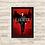 Thumbnail: 1326 - Quadro com moldura Lucifer