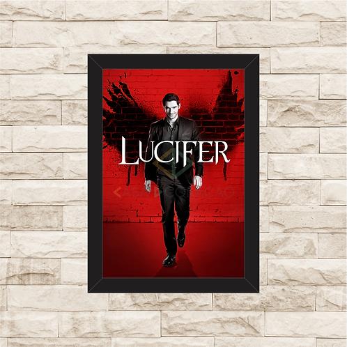 1326 - Quadro com moldura Lucifer