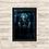 Thumbnail: 1647 - Quadro com moldura Anjos da Noite - Viktor