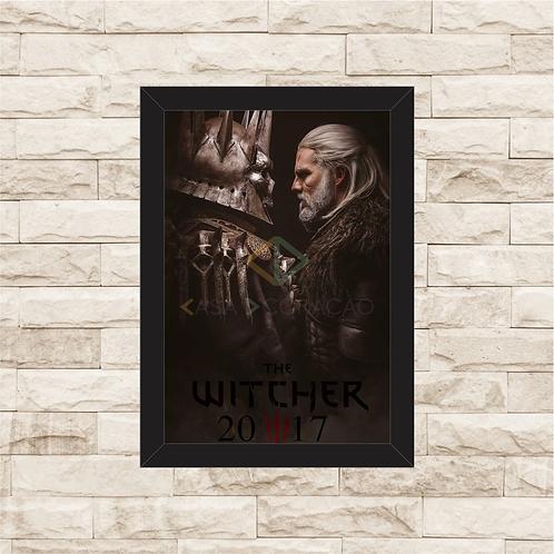 1825 - Quadro com moldura The Witcher