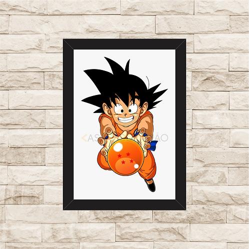 1149 - Quadro com moldura Dragon Ball Z