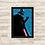 Thumbnail: 1262 - Quadro com moldura Star Wars - Darth Vader