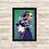 Thumbnail: 1718 - Quadro com moldura Coringa - Joker