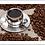 Thumbnail: 10018 - Bandeja Decorativa - Grãos de Café