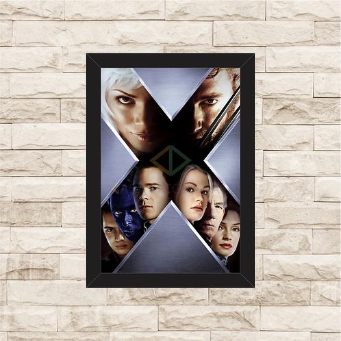 1382 - Quadro com moldura X-Men 2