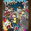 Thumbnail: 1099 - Quadro com moldura Rick and Morty