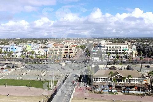 Main Street HB Aerial