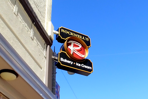 Rockwell's Bakery and Ice Cream Marquee