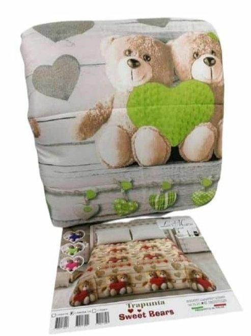 Trapunta invernale teddy