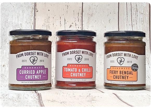 Hot 'n' Spicy Chutney - 3 jars