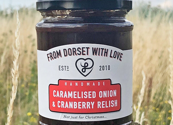 Caramelised Onion and Cranberry Relish