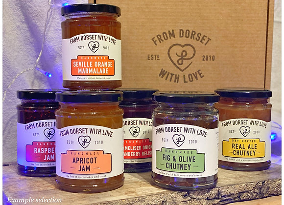 6 Jar / Pick Your Own (FREE DELIVERY)