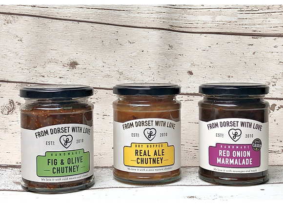 Cheeseboard Selection - 3 jars