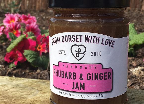 Rhubarb and Ginger Jam