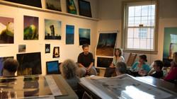 Artist Studio Talk: M.J. Sharp