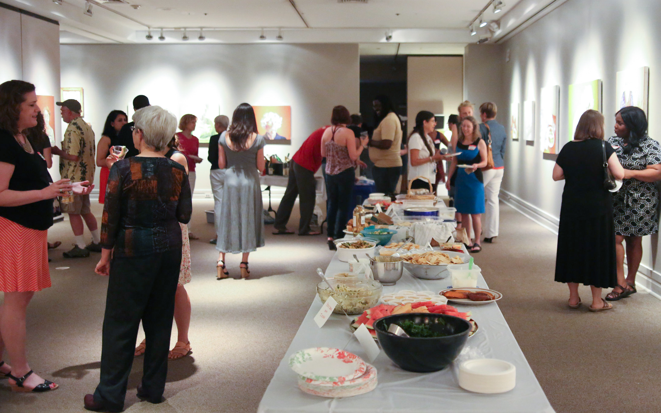 Durham Art Guild Event 2015