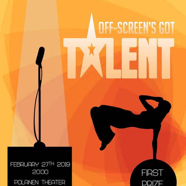 Off-Screen's Got Talent